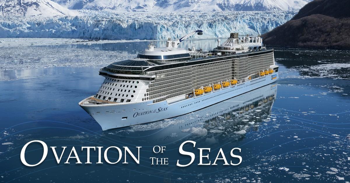 แพคเกจล่องเรือสำราญ OVATION OF THE SEAS 7 คืน อเมริกา