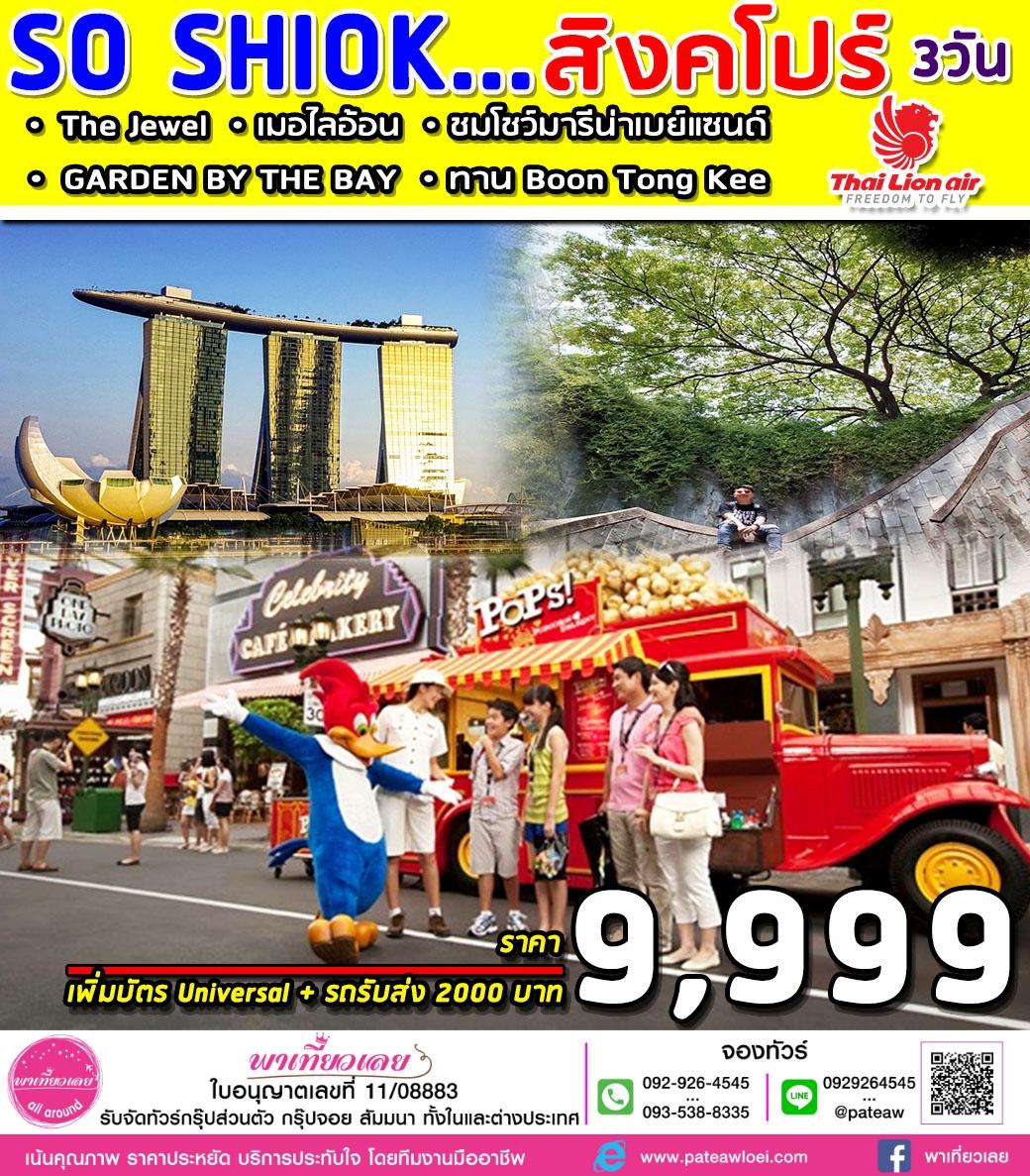 สิงคโปร์ SUPERB SO SHIOK 3D 3วัน 2คืน