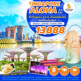 SINGAPORE ALOHA 3D2N