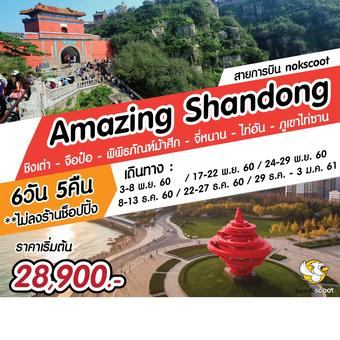 Amazing Shandong 6 วัน 5 คืน