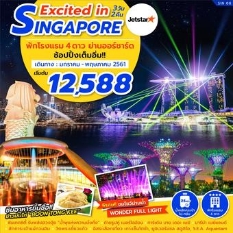EXCITED IN SINGAPORE 3D2N