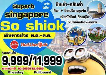SUPERB SINGAPORE SO SHIOK 3DAYS