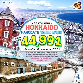 HOKKAIDO HAKODATE WINK WINK 6D4N
