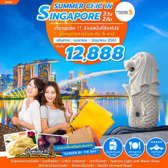 SUMMER CHIC IN SINGAPORE 3D2N