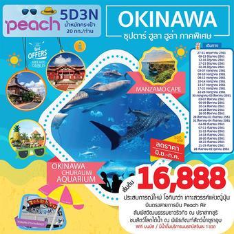 OKINAWA ซุปตาร์ ฮูลา ฮูล่า ภาคพิเศษ 5D3N
