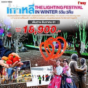 เกาหลี The Lighting Festival In Winter 5วัน 3คืน