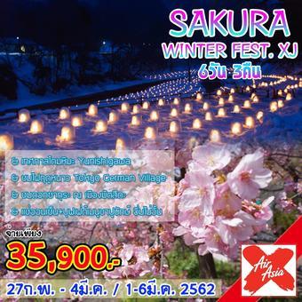 SAKURA WINTER FEST. XJ 6D3N