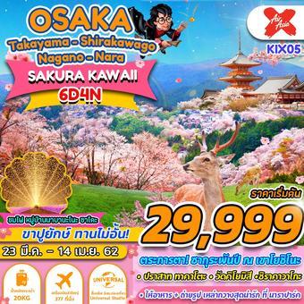 OSAKA SAKURA FREE DAY 6D4N