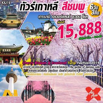 เกาหลี สีชมพู 6D3N