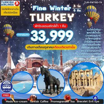 FINE WINTER TURKEY 8 วัน 6 คืน