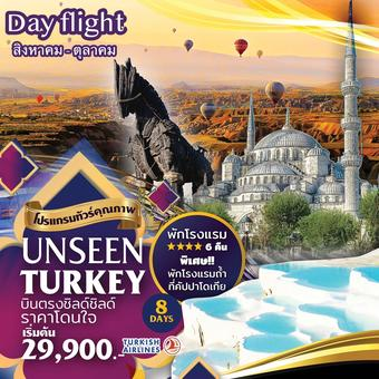 Unseen Turkey Day flight 8D5N