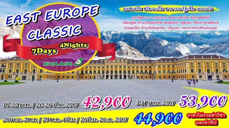 EAST EUROPE CLASSIC 7D 4N