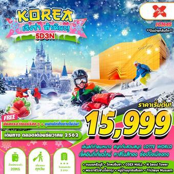KOREA เริงร่า ท้าหิมะ!