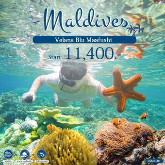 MALDIVES PACKAGE 3 วัน 2 คืน - VELANA BLU MAAFUSHI