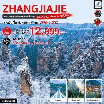 ทัวร์จีน บินตรง..จางเจียเจี้ย ปูไข่ดอง ฟ่งหวง อวตาร สะพานแก้ว ประตูสวรรค์ 4 วัน 3 คืน (CZ)