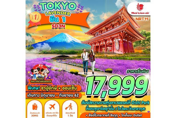 ทัวร์ญี่ปุ่น TOKYO LAVENDER ยืน1 5D3N