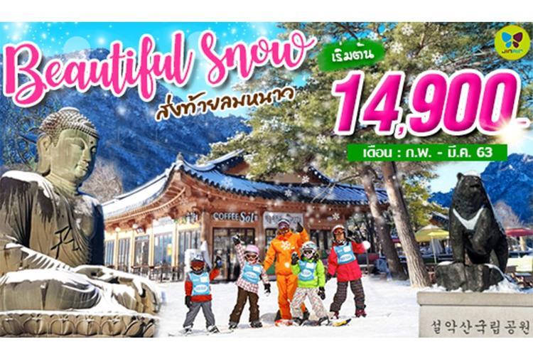 ทัวร์เกาหลี BEAUTIFUL SNOW IN SEORAK 5วัน 3คืน