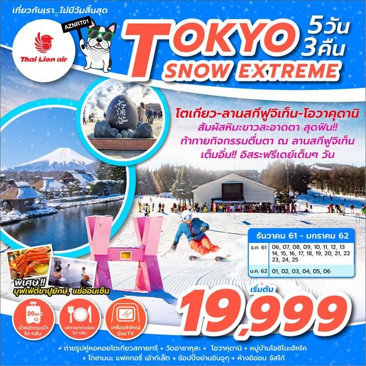 Tokyo Snow Extreme 5 วัน 3 คืน