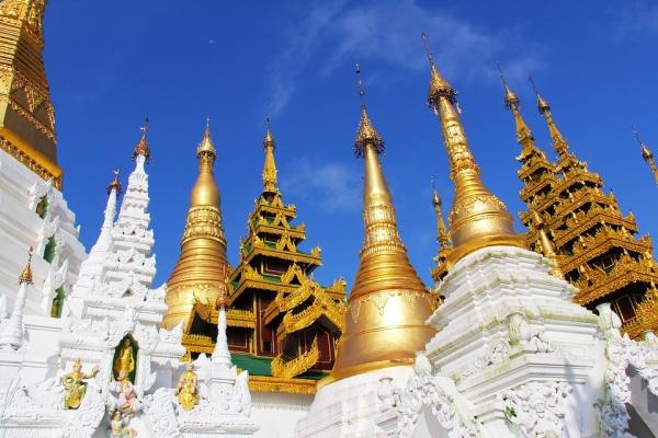 ทัวร์พม่า RGN5-8M Yangon holy 9 Yangon 2 Days