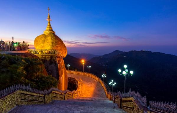ทัวร์พม่า RGN1-8M โปรเมียนมาร์ สาธุ Yangon-Bago-Golden Rock 3 Days